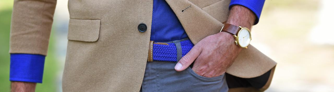 Belts royal blue