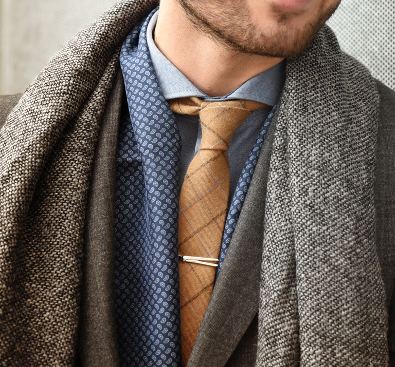 XL Neckties grey