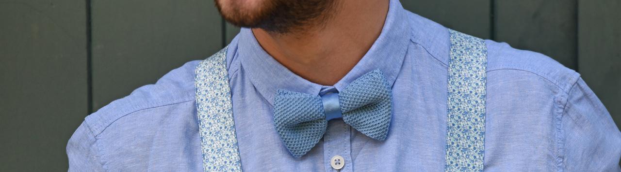 Bow ties brown