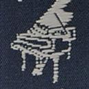 Suspenders Music Maestro blue