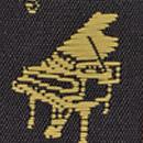Suspenders Music Maestro black