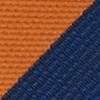 Necktie orange stripe
