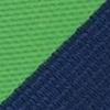 Necktie green striped