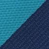 Necktie turquoise striped