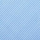 Clip-on tie light blue repp