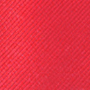 Clip-on tie red repp