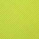 Clip-on tie lime green repp