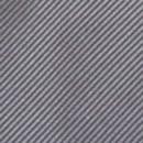 Clip-on tie grey repp