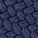 Braided belt blue