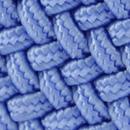 Braided belt lavender blue