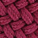 Braided belt wine red