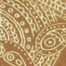 Sir Redman deluxe suspenders Paisley Sketch ochre