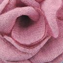 Lapel pin Linen Look mauve