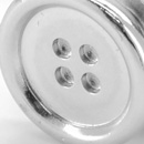 Sir Redman set of suspender buttons silver-plated