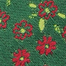 Sir Redman bow tie Little Flowers groen