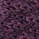 Bow tie knitted wool aubergine