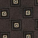 Necktie Classic Square brown