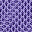 Necktie knitted lavender