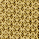 Bow tie knitted mustard