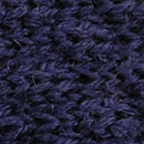 Bow tie knitted wool navy blue