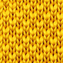 Bow tie knitted ochre