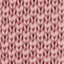 Necktie knitted soft pink