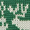Necktie Rudolph Reindeer green