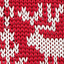 Necktie Rudolph Reindeer red