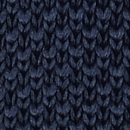 Sir Redman knitted tie dark blue