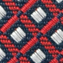 Necktie pattern navy red