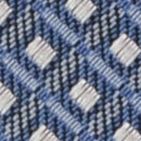 Necktie pattern denim blue white
