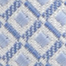 Necktie pattern white light blue
