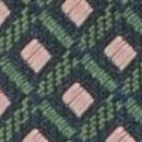 Necktie pattern green pink