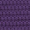 Necktie knitted purple