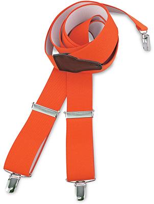 Suspenders orange