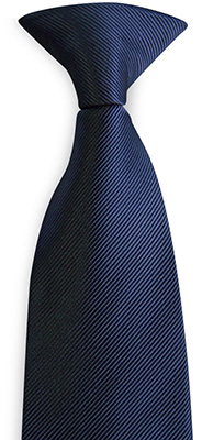 Safety tie blue