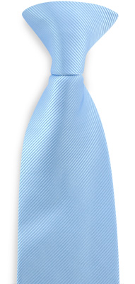 Safety tie light blue