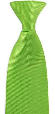 Safety tie apple green