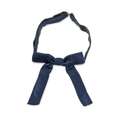 Kids bow tie dark blue