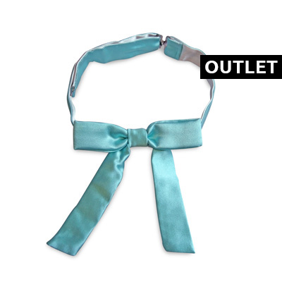 Kids bow tie mint green