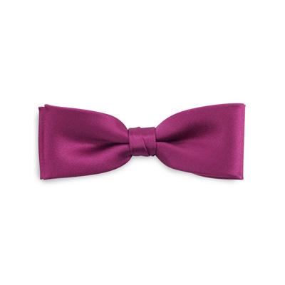 Kids bow tie fuchsia junior