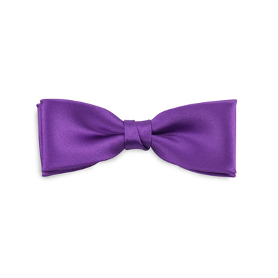 Kids bow tie purple junior