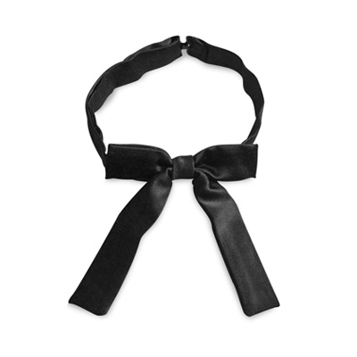 Kids bow tie black