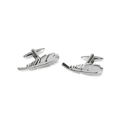 Cuff links Feather
