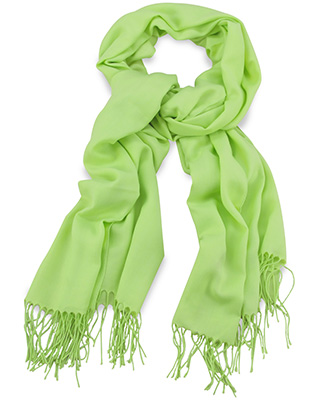 Pashmina sharp green