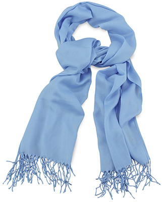 Pashmina light blue