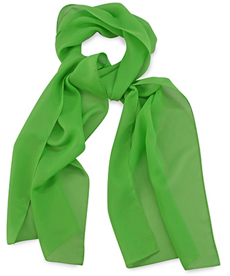 Scarf uni apple green