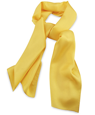 Scarf yellow uni