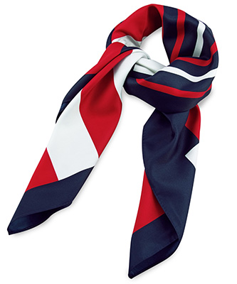 Scarf red / white / blue