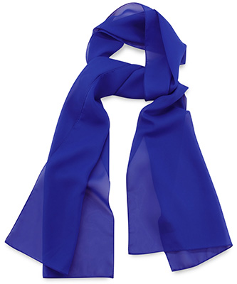 Scarf uni royal blue